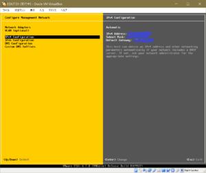 ESXi IPv4 Configuration