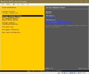 ESXi Configure Management Network
